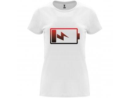 Dámské tričko Capri bíle