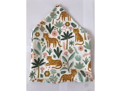 Letní dětský šátek - Gepardi