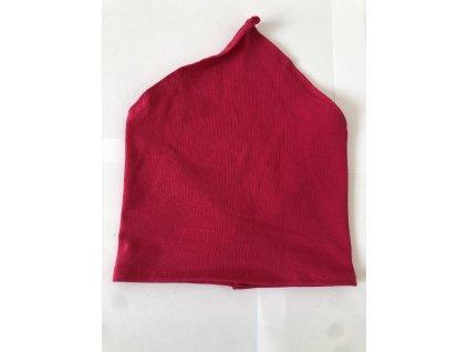 Letní dětský šátek - Fuchsiová