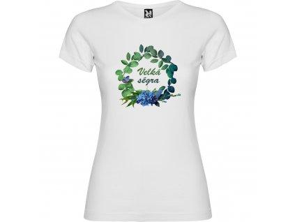 Dívčí tričko - Velká ségra věnec