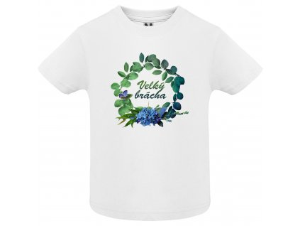 Dětské tričko - Velký brácha věnec