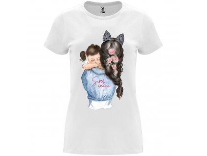 Dámské tričko - Super máma s dcerou 2