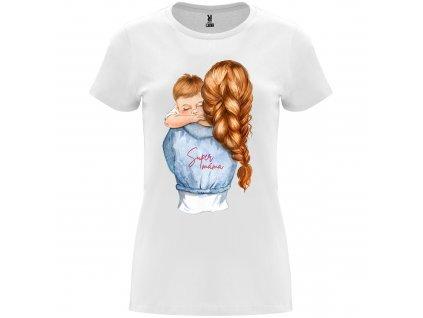 Dámské tričko - Super máma se synem
