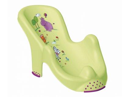 Keeeper Lehátko ke koupání Hippo - limetka