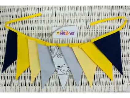 Ozdobná girlanda Baby Nellys ®- č. 06