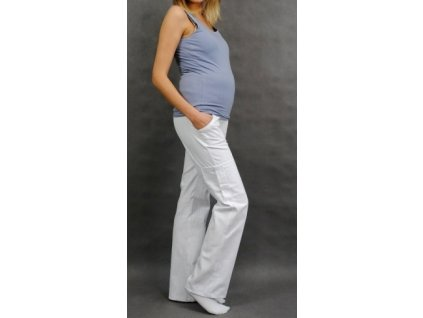 Be MaaMaa Těhotenské kalhoty s boční kapsou