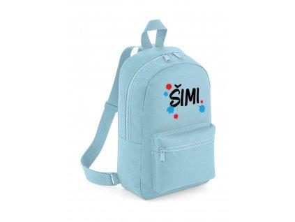 Mini batoh - S jménem