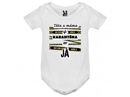 Dětské body - Táta a máma + karanténa = Já