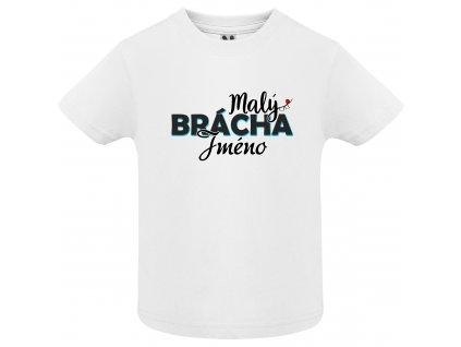 Dětské tričko - Malý brácha jméno