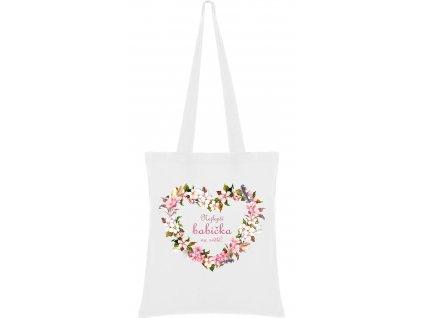 Látková taška - Nejlepší babička na světě 2