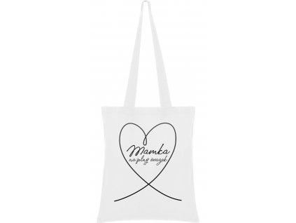 Látková taška - Mamka na plný úvazek
