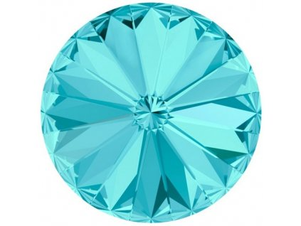 Crystals from Swarovski® RIVOLI 12 mm - LIGHT TURQUOISE