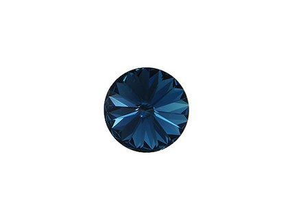 Crystals from Swarovski® RIVOLI 12 mm - MONTANA BLUE