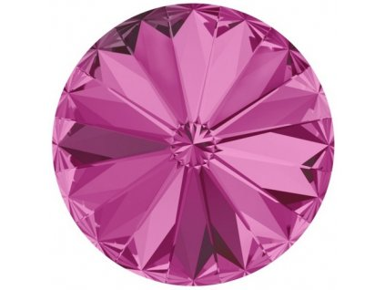 Crystals from Swarovski® RIVOLI 12 mm - FUCHSIA