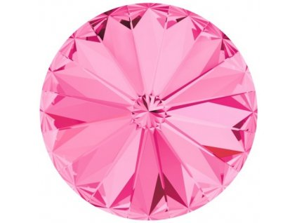 Crystals from Swarovski® RIVOLI 12 mm - ROSE