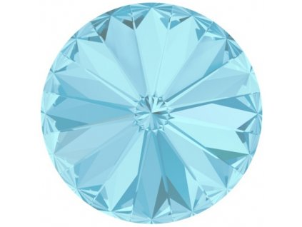 Crystals from Swarovski® RIVOLI 12 mm -  AQUAMARINE