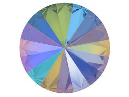 Crystals from Swarovski® RIVOLI 12 mm, PARADISE SHINE