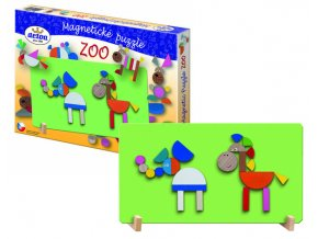 puzzle magnetické - ZOO