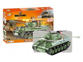 stavebnice WORLD OF TANKS Hellicat 465 k, 1 f