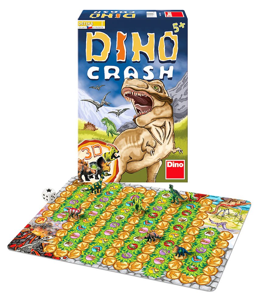 DINO Toys hra Dino Crash