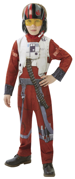 ADC Blackfire karnevalový kostým STAR WARS Epizoda 7 X-Wing Fighter Pilot -...