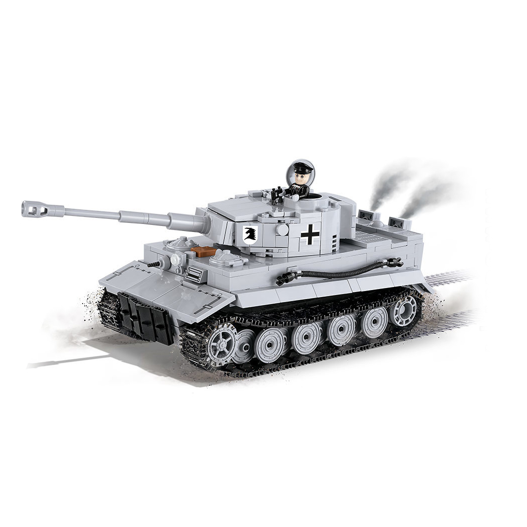 COBI stavebnice World of Tanks Tiger I 570 k, 1 f