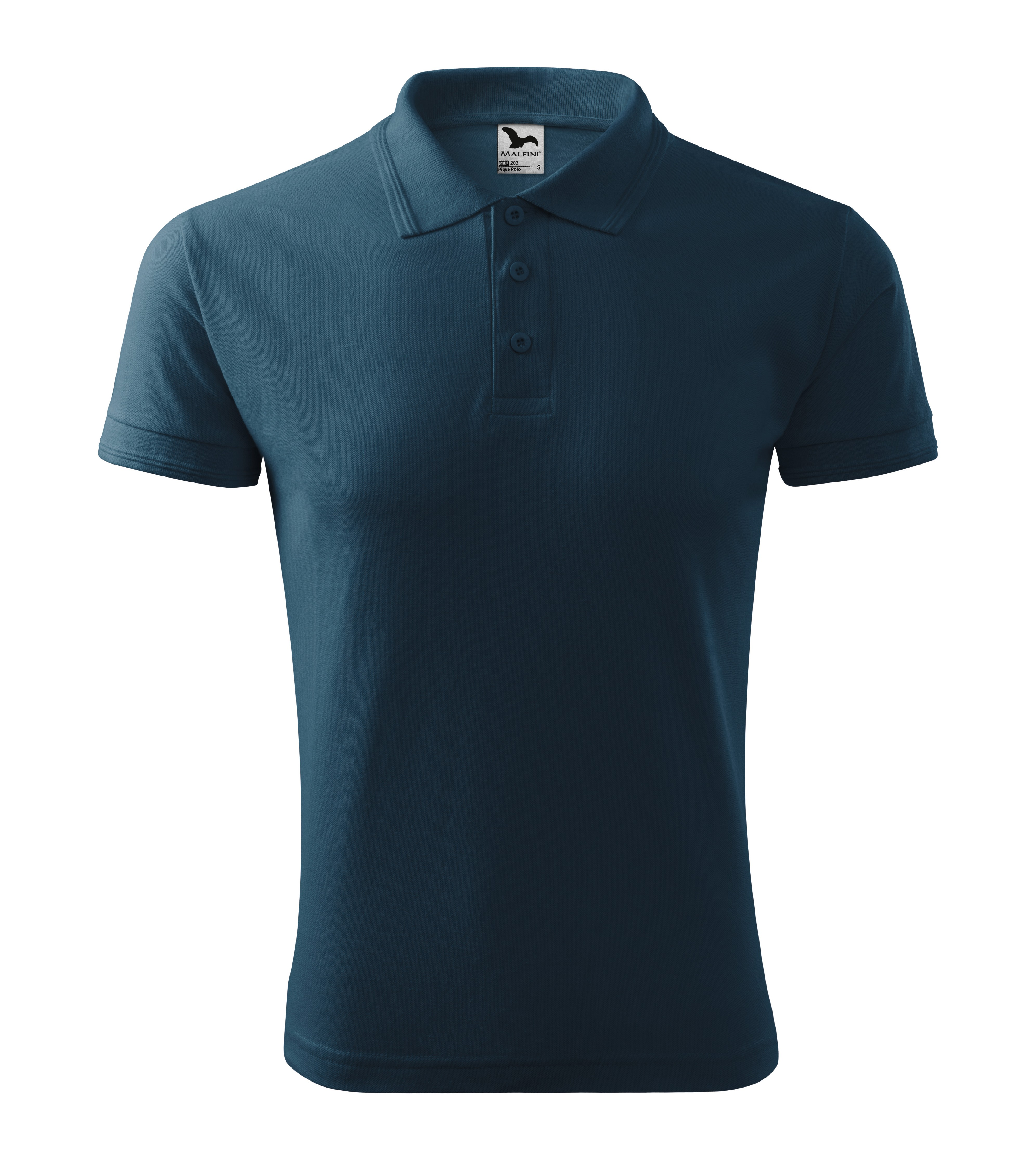 Polokošile pánská Pique Polo Barva: námořní modrá, Velikost: L
