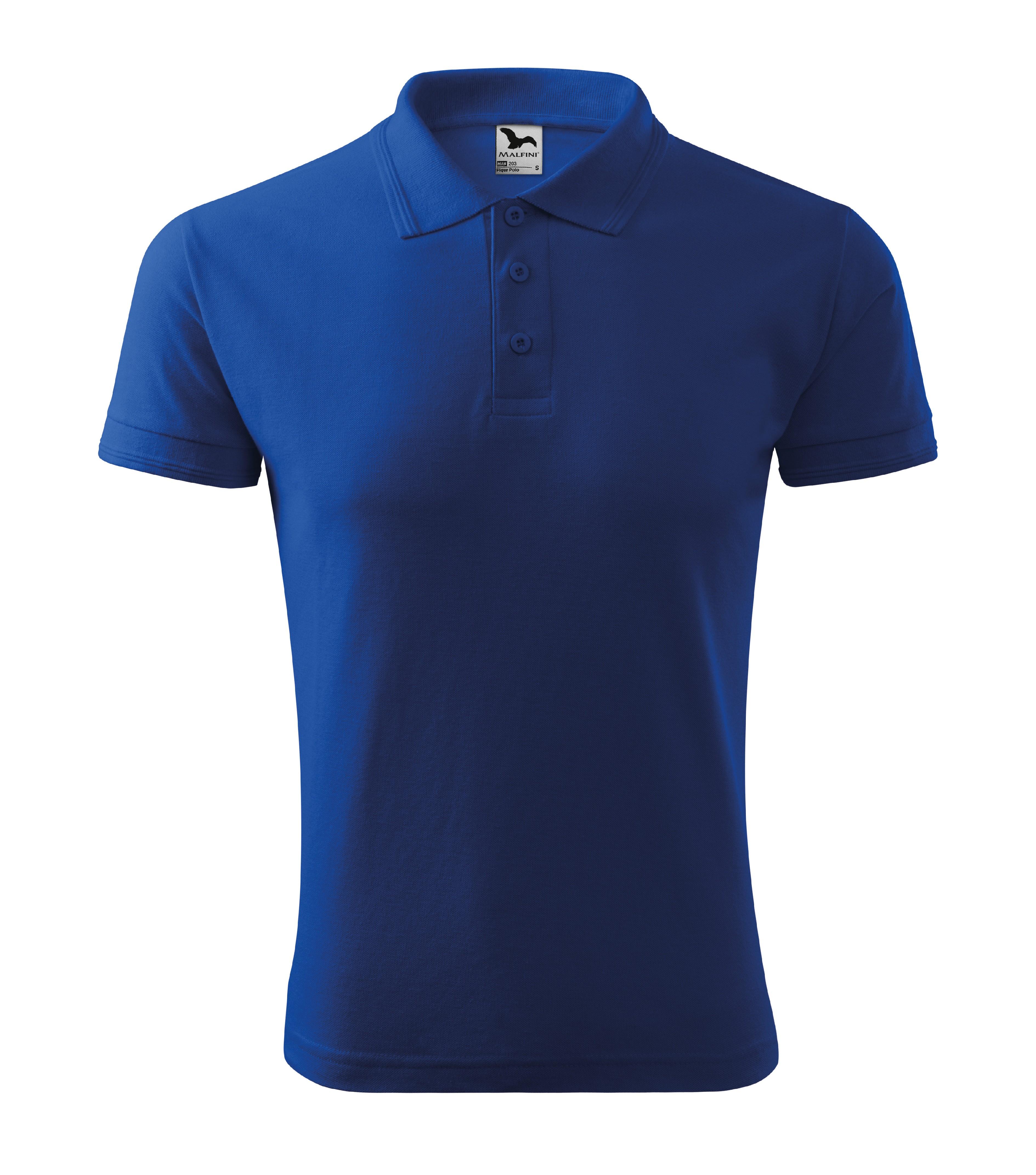 Polokošile pánská Pique Polo Barva: královská modrá, Velikost: L