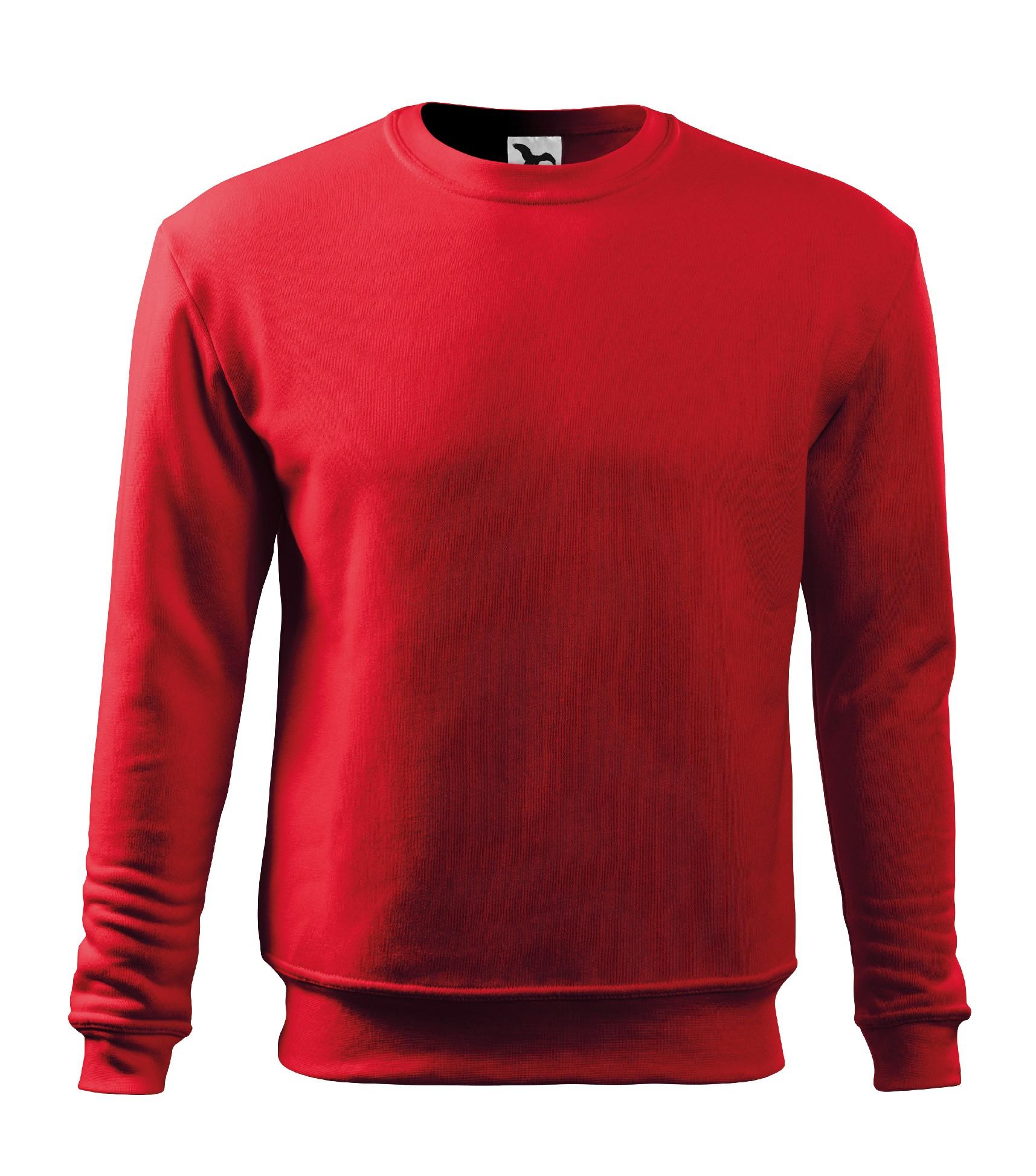 Mikina pánská dětská Essential Barva  červená 5160b93948