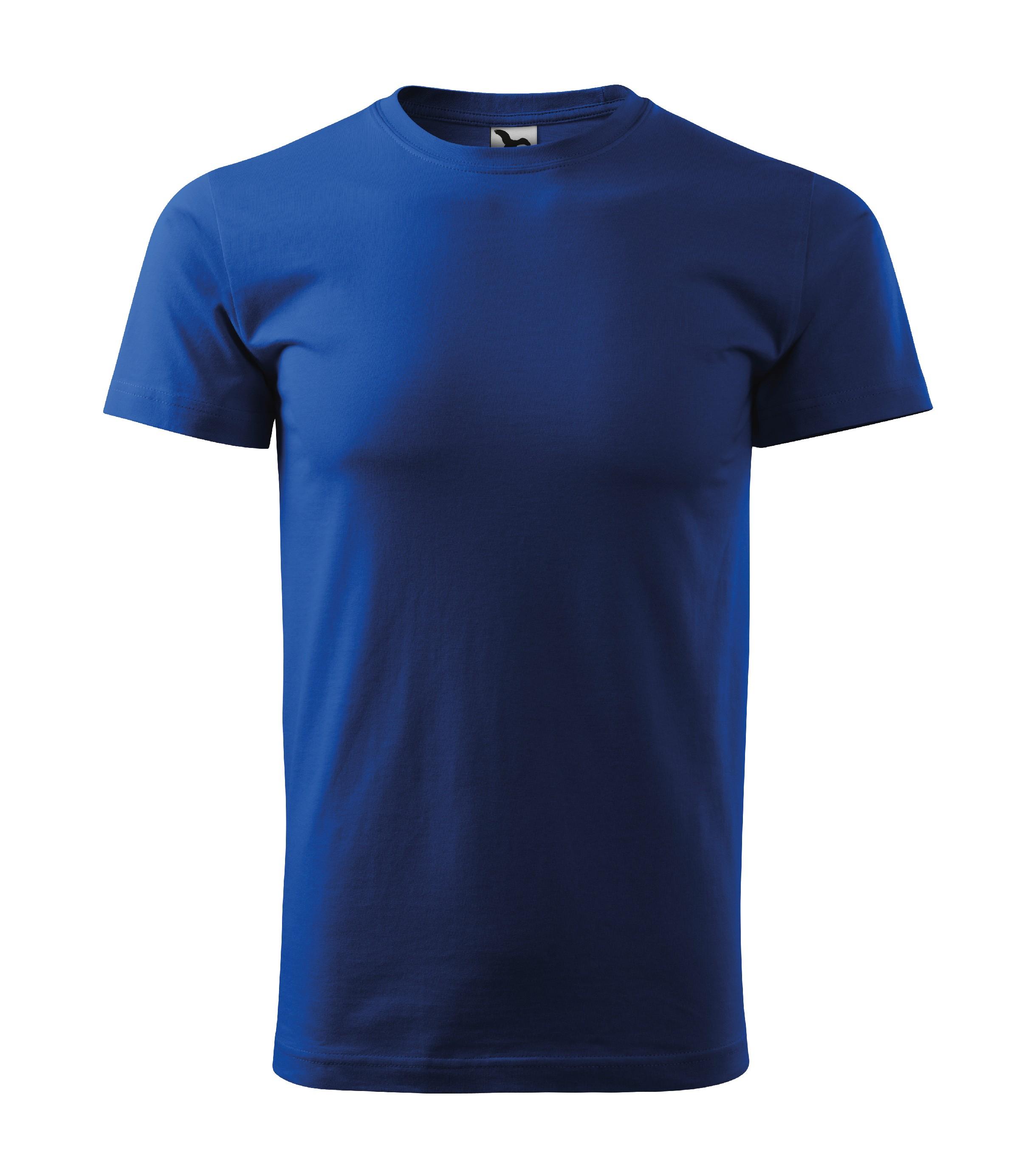 Tričko unisex Heavy New Barva: královská modrá, Velikost: L