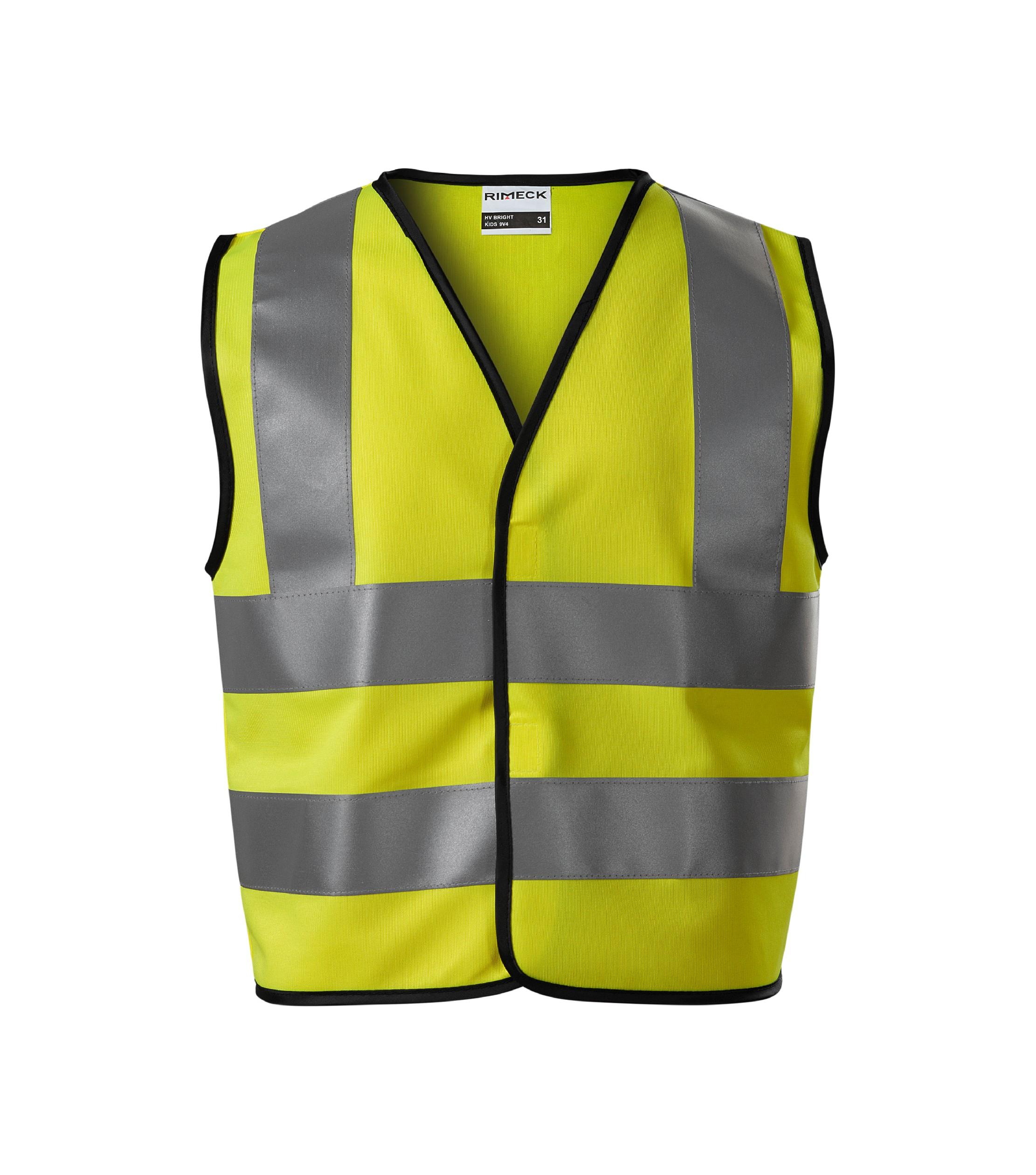 Bezpečnostní vesta dětská HV Bright Barva: reflexní oranžová, Velikost: 4-6 let/104-128 cm