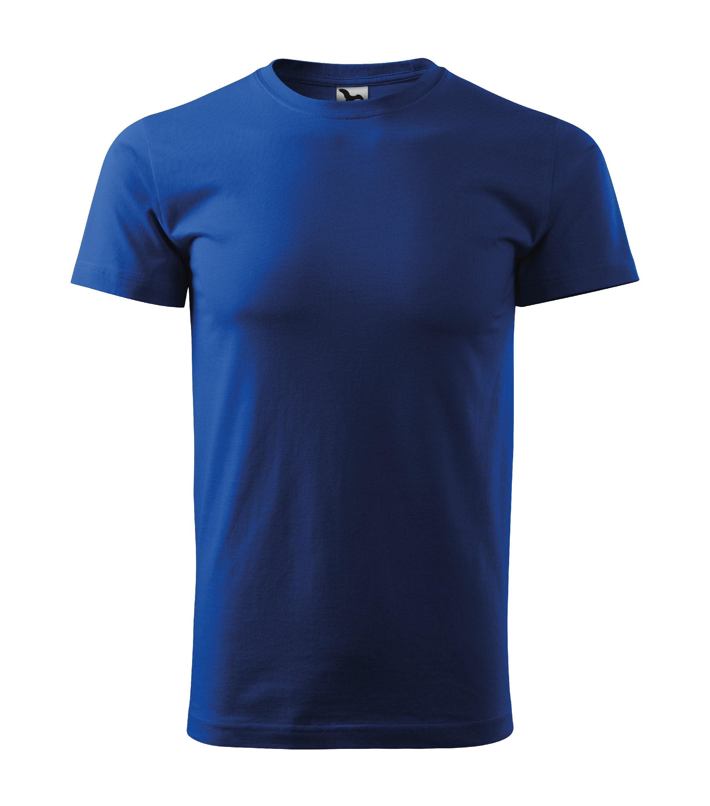 Tričko pánské Basic Barva: královská modrá, Velikost: 2XL