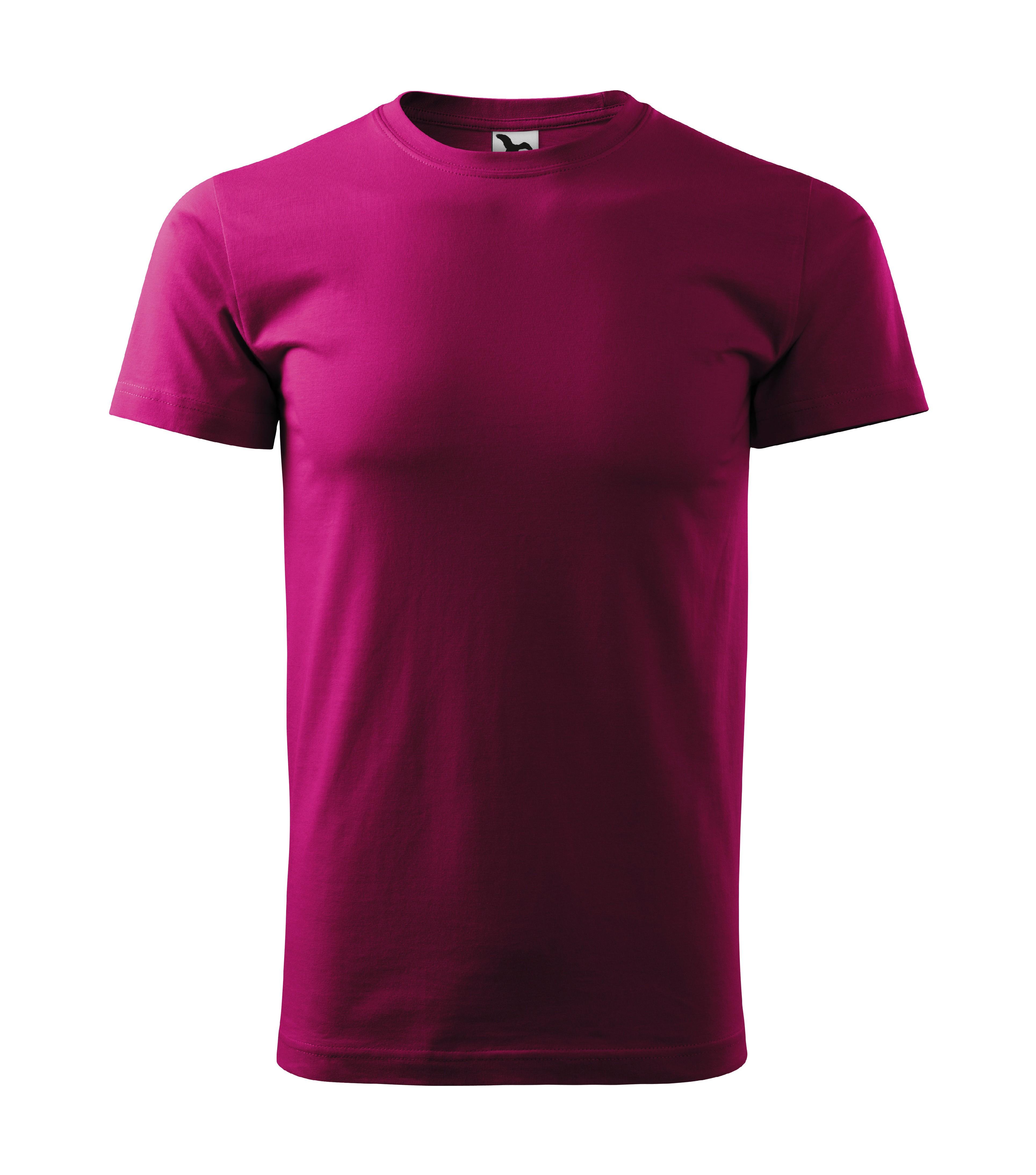 9bd262419a0 Tričko pánské Basic Barva  fuchsia red
