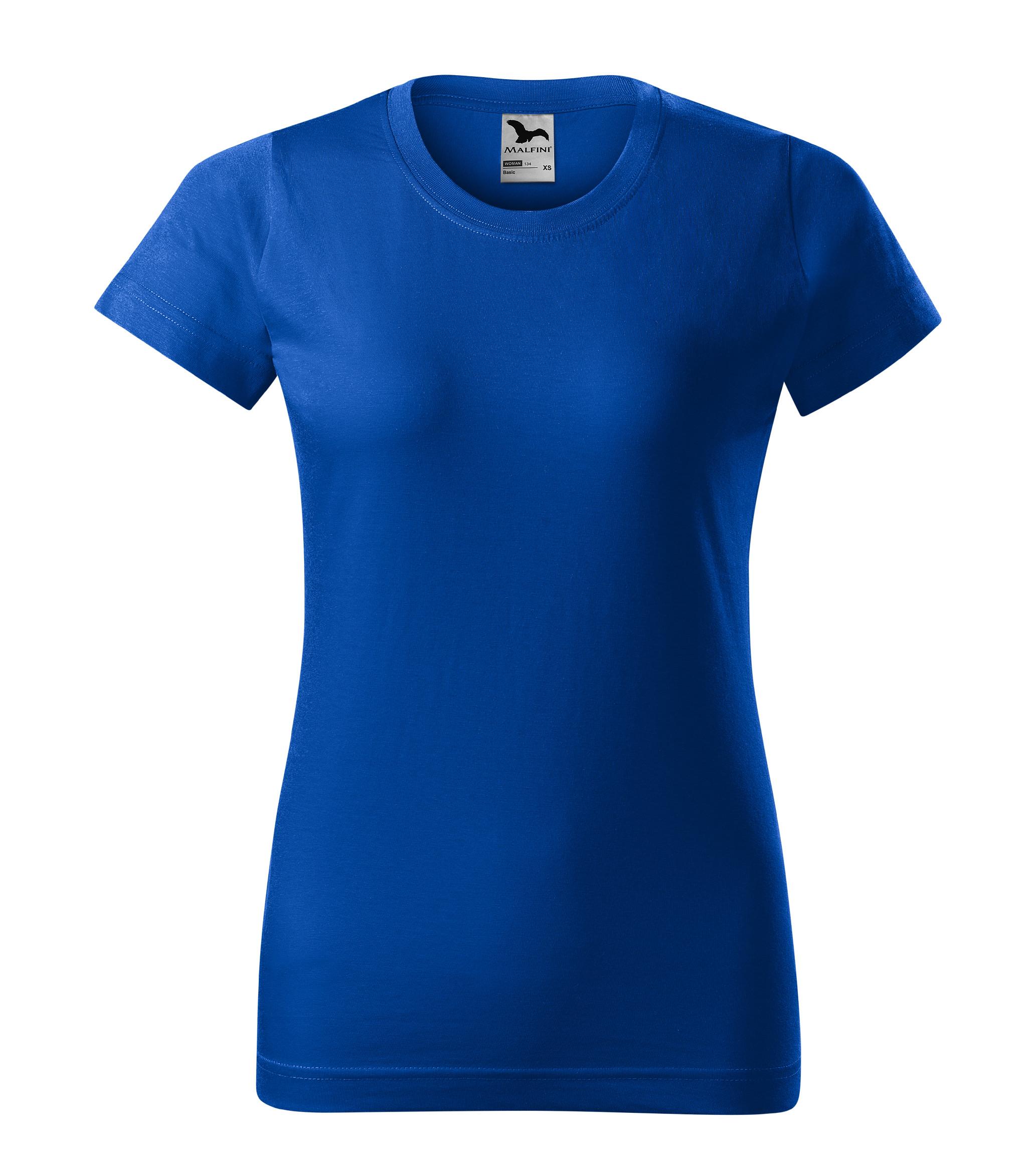 Tričko dámské Basic Barva: královská modrá, Velikost: 2XL
