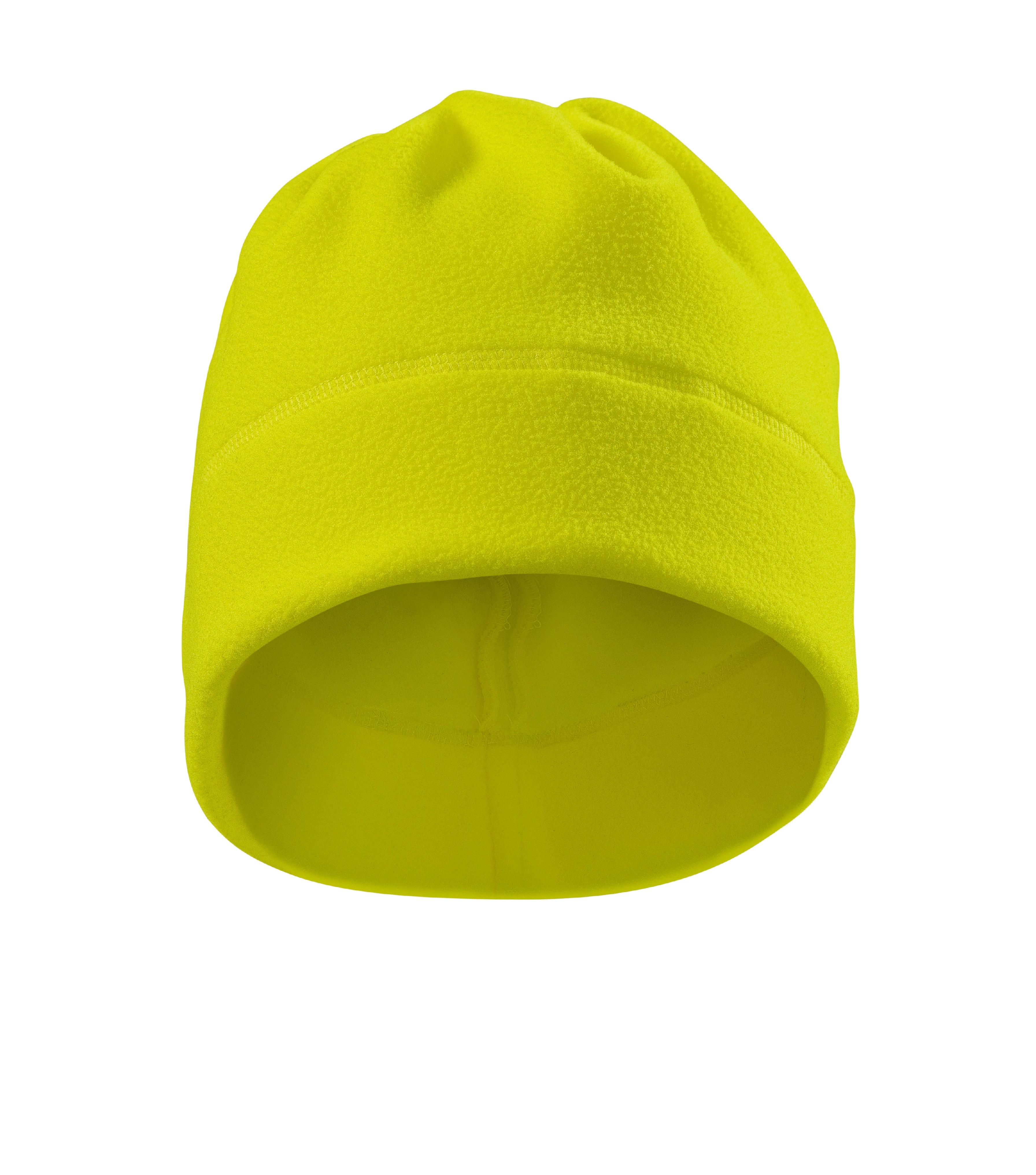 b1cf31bb8ae Fleece čepice unisex HV Practic Barva  reflexní žlutá