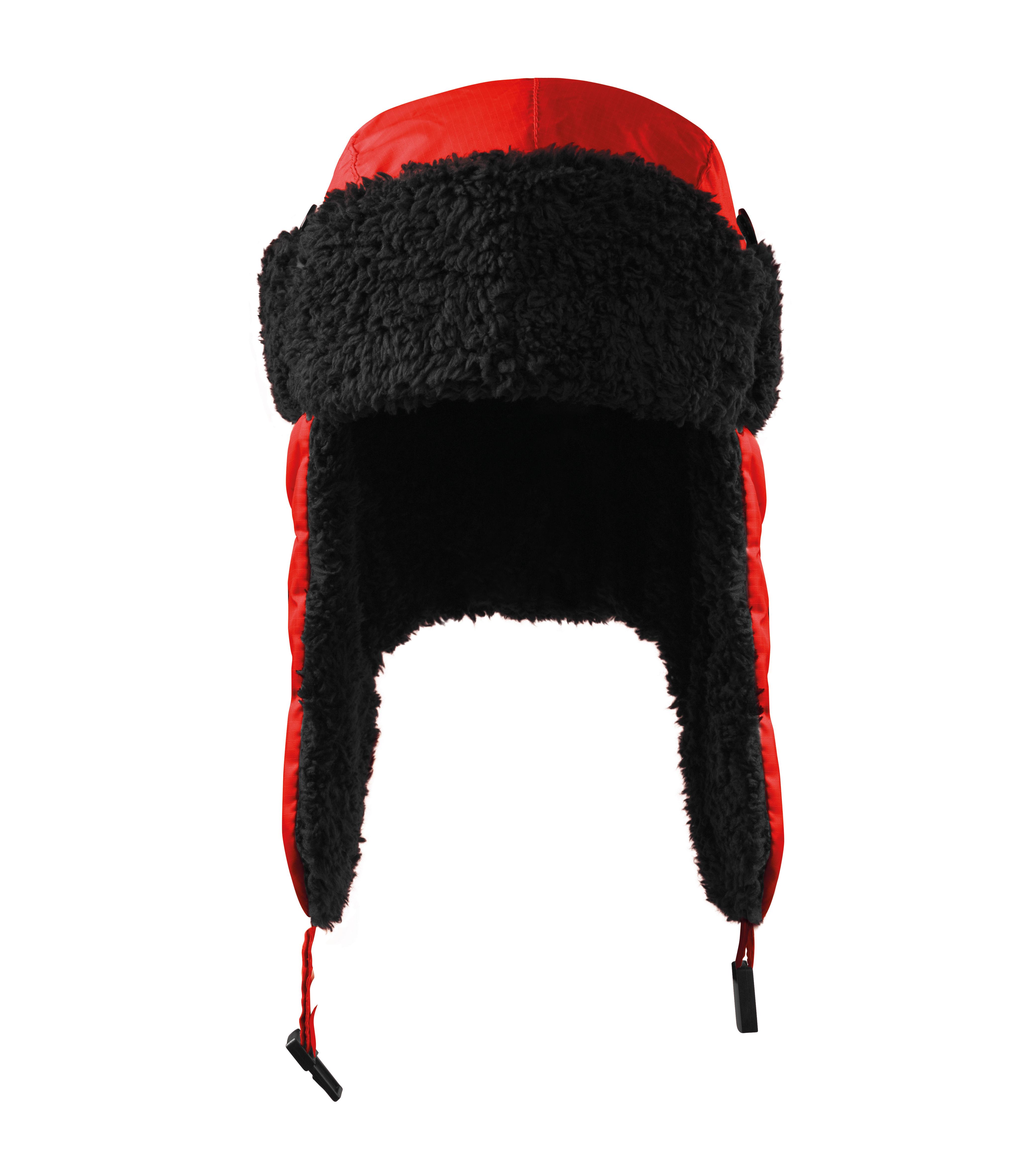 Čepice unisex Furry Barva: červená, Velikost: L