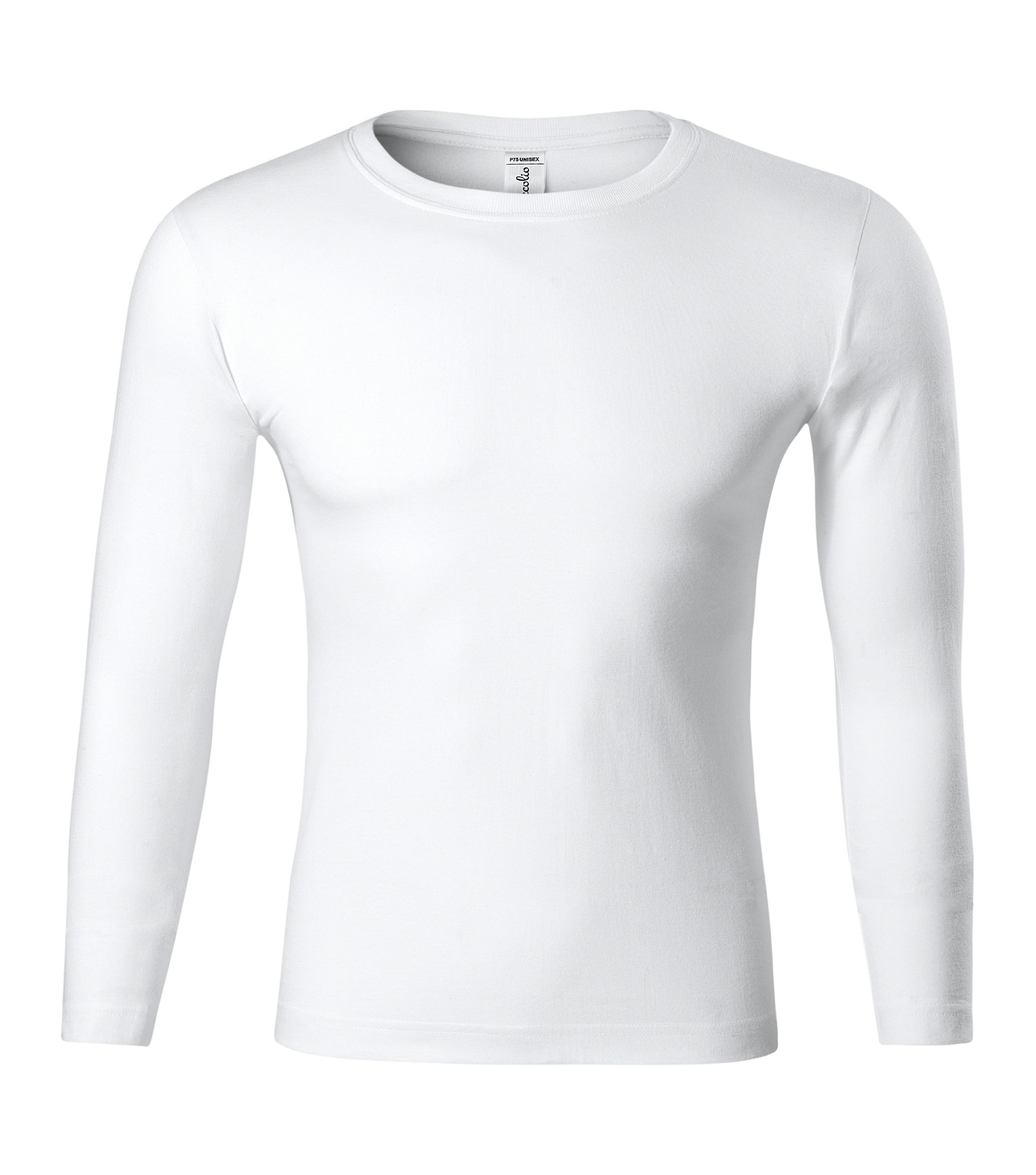 Triko unisex Progress LS Barva: Bílá, Velikost: M