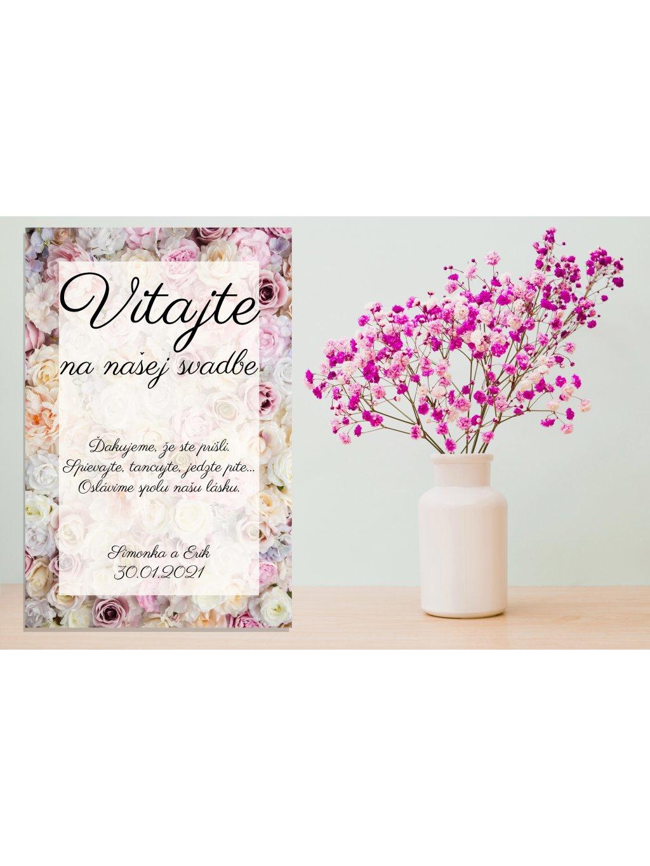 Uvítacia svadobná tabuľa 25