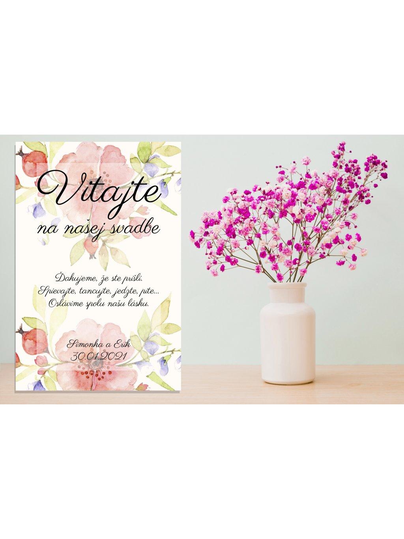 Uvítacia svadobná tabuľa 31