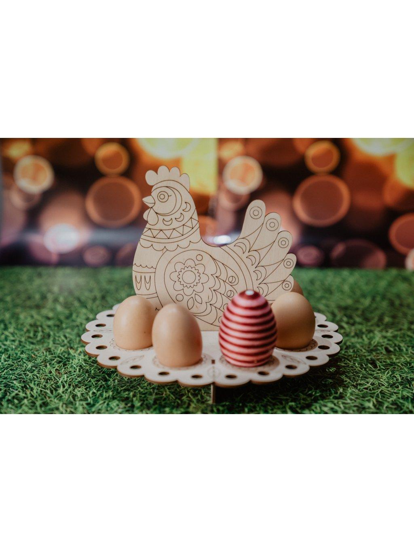 Stojan na vajíčka - Sliepka