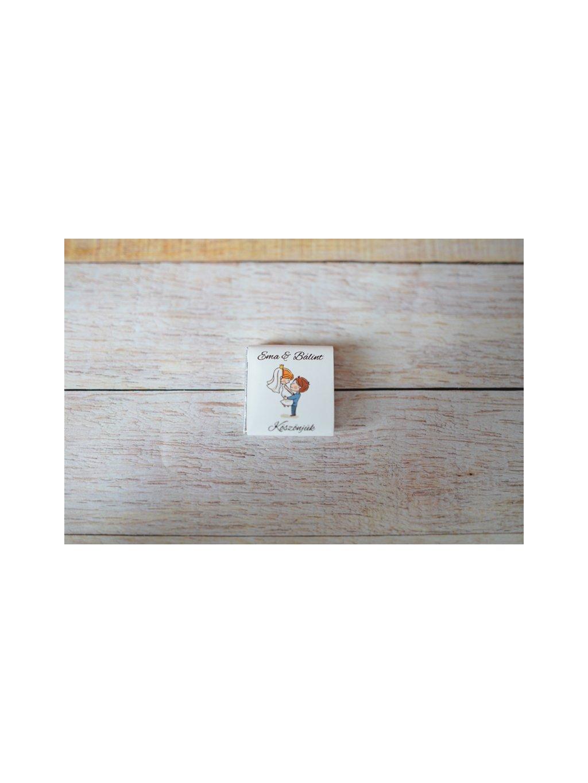 Svadobná miničokoládka 31