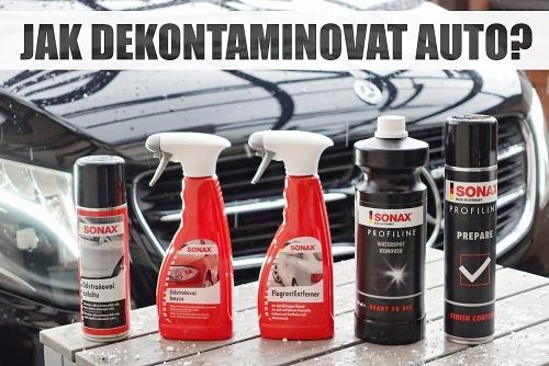 Jak na chemickou dekontaminaci laku auta?