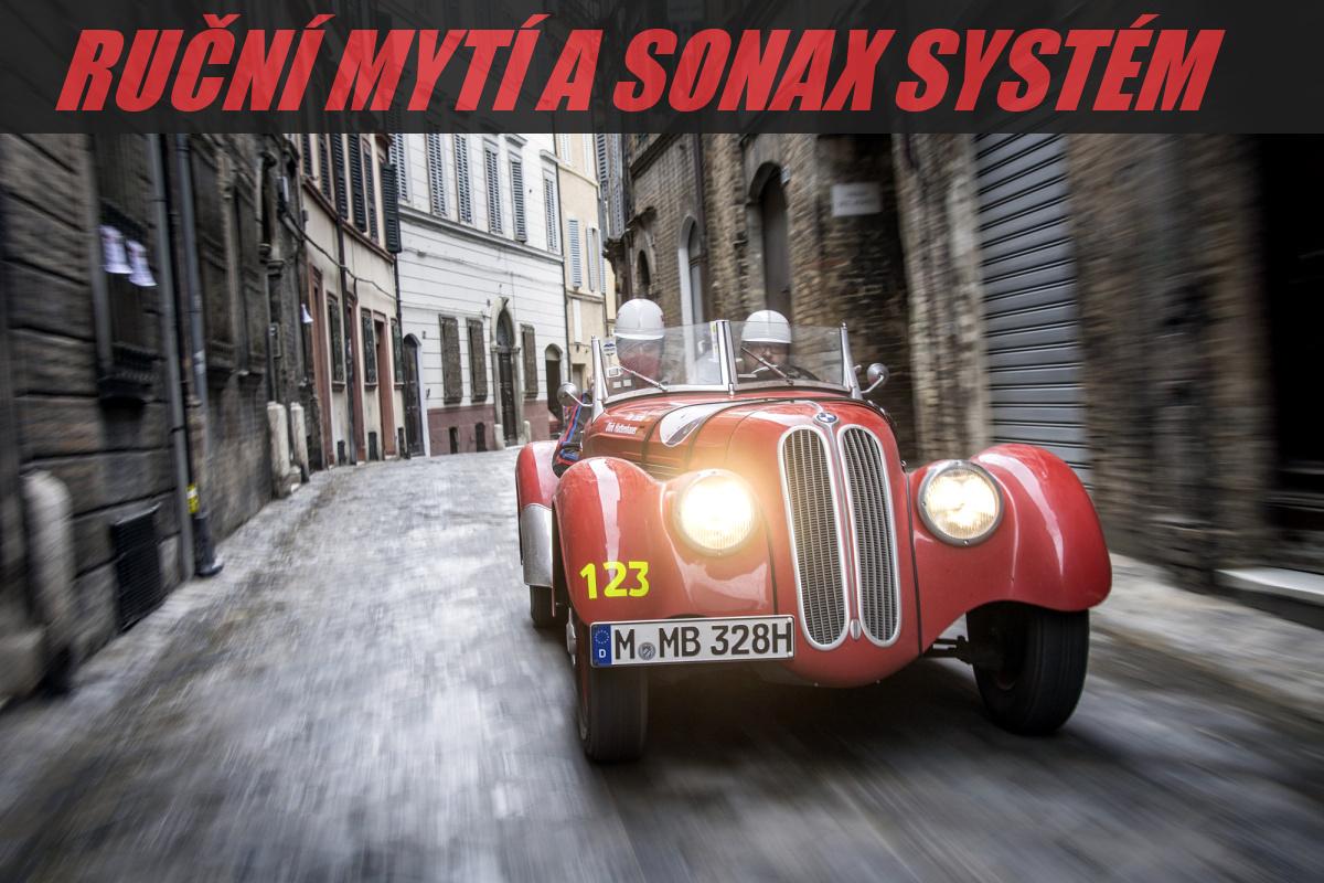 Jak ručně umýt auto - Systém SONAX