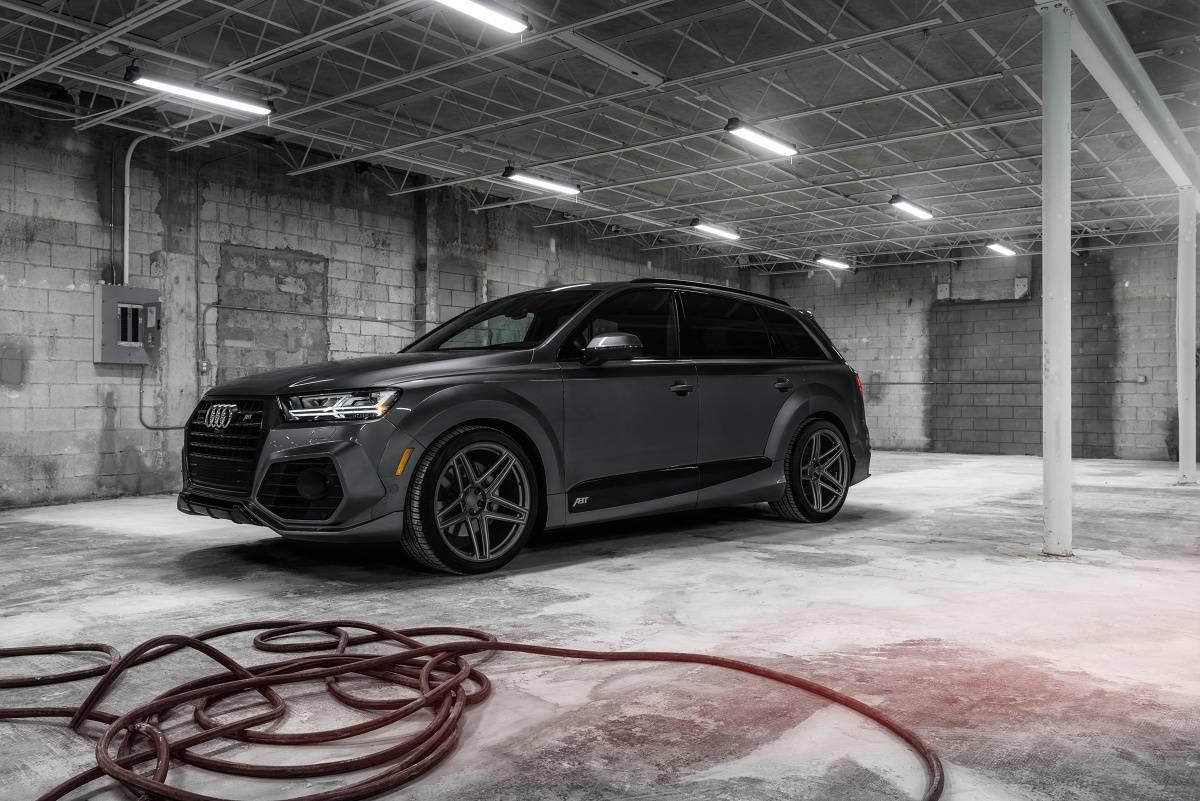 Ruční mytí auta - Audi Q7 - SONAX SYSTEM