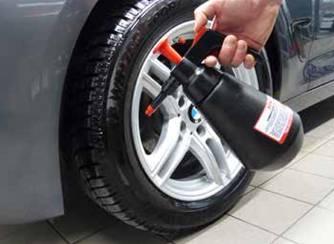 Lesk a konzervace pneumatik a disků