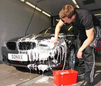 Ruční mytí houbou SONAX