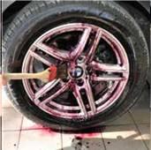 Krvácení kol po použití čističe na kola