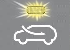 Ikona vnější cirkulace vzduchu