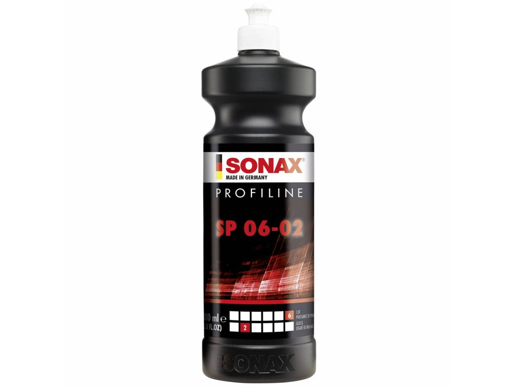 SONAX PROFILINE Brusná pasta bez silikonu - hrubá 06/02