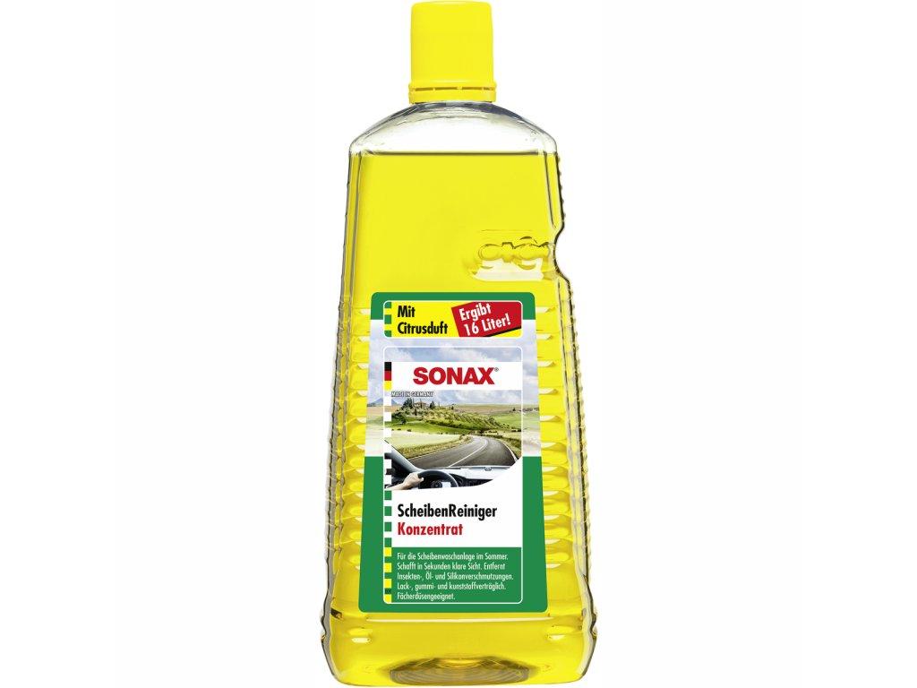 SONAX Letní kapalina do ostřikovačů - koncentrát 1:7 citrus - 2 l